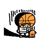 がんばれ!バスケットボール(個別スタンプ:09)