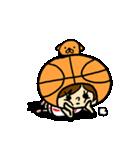 がんばれ!バスケットボール(個別スタンプ:10)