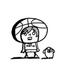 がんばれ!バスケットボール(個別スタンプ:11)