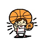 がんばれ!バスケットボール(個別スタンプ:12)