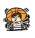 がんばれ!バスケットボール(個別スタンプ:14)