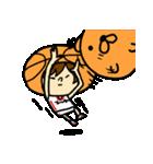 がんばれ!バスケットボール(個別スタンプ:15)