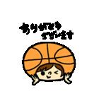 がんばれ!バスケットボール(個別スタンプ:17)