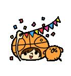 がんばれ!バスケットボール(個別スタンプ:19)