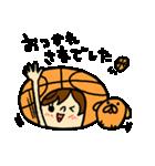 がんばれ!バスケットボール(個別スタンプ:22)