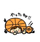 がんばれ!バスケットボール(個別スタンプ:27)