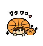 がんばれ!バスケットボール(個別スタンプ:28)
