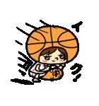 がんばれ!バスケットボール(個別スタンプ:34)