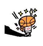 がんばれ!バスケットボール(個別スタンプ:36)