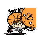 がんばれ!バスケットボール(個別スタンプ:37)
