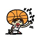 がんばれ!バスケットボール(個別スタンプ:40)