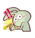 スマイル うさぽん(個別スタンプ:01)