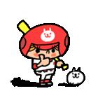 ソフトボールとねこ(個別スタンプ:04)