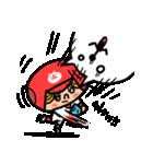 ソフトボールとねこ(個別スタンプ:08)