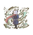 狐面ニンジャさん(個別スタンプ:11)