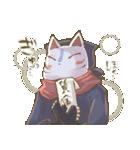 狐面ニンジャさん(個別スタンプ:21)