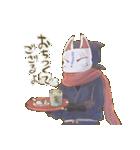 狐面ニンジャさん(個別スタンプ:25)