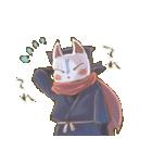 狐面ニンジャさん(個別スタンプ:30)