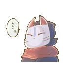 狐面ニンジャさん(個別スタンプ:31)