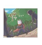 狐面ニンジャさん(個別スタンプ:39)