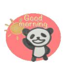 ひだまりパンダ 〜えいご編〜(個別スタンプ:01)