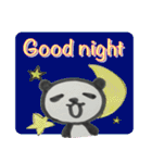 ひだまりパンダ 〜えいご編〜(個別スタンプ:02)