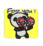 ひだまりパンダ 〜えいご編〜(個別スタンプ:04)