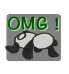 ひだまりパンダ 〜えいご編〜(個別スタンプ:05)