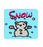 ひだまりパンダ 〜えいご編〜(個別スタンプ:09)