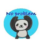 ひだまりパンダ 〜えいご編〜(個別スタンプ:13)