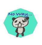 ひだまりパンダ 〜えいご編〜(個別スタンプ:17)