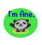 ひだまりパンダ 〜えいご編〜(個別スタンプ:21)
