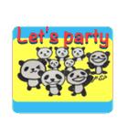 ひだまりパンダ 〜えいご編〜(個別スタンプ:23)