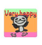 ひだまりパンダ 〜えいご編〜(個別スタンプ:24)