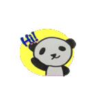 ひだまりパンダ 〜えいご編〜(個別スタンプ:26)
