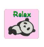 ひだまりパンダ 〜えいご編〜(個別スタンプ:28)