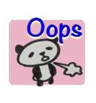 ひだまりパンダ 〜えいご編〜(個別スタンプ:31)