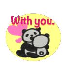ひだまりパンダ 〜えいご編〜(個別スタンプ:32)