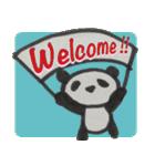 ひだまりパンダ 〜えいご編〜(個別スタンプ:35)