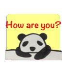 ひだまりパンダ 〜えいご編〜(個別スタンプ:36)