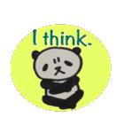 ひだまりパンダ 〜えいご編〜(個別スタンプ:39)
