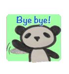 ひだまりパンダ 〜えいご編〜(個別スタンプ:40)