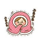 かわいい主婦の1日【冬編】(個別スタンプ:05)