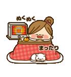 かわいい主婦の1日【冬編】(個別スタンプ:18)