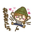 【関西弁】ゆるカジ女子♥4(個別スタンプ:1)