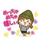 【関西弁】ゆるカジ女子♥4(個別スタンプ:18)