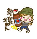【関西弁】ゆるカジ女子♥4(個別スタンプ:21)