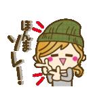 【関西弁】ゆるカジ女子♥4(個別スタンプ:25)