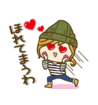【関西弁】ゆるカジ女子♥4(個別スタンプ:32)