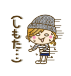 【関西弁】ゆるカジ女子♥4(個別スタンプ:34)